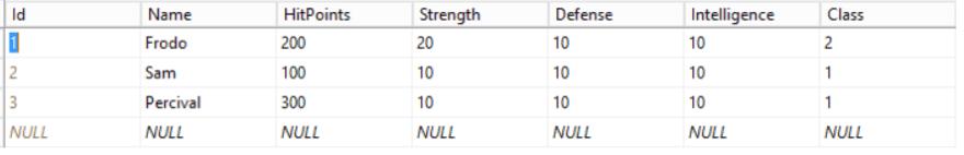 Update in SQL Server Management Studio