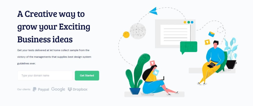 Cover image for FREE Hosting Classic React Landing Page Template