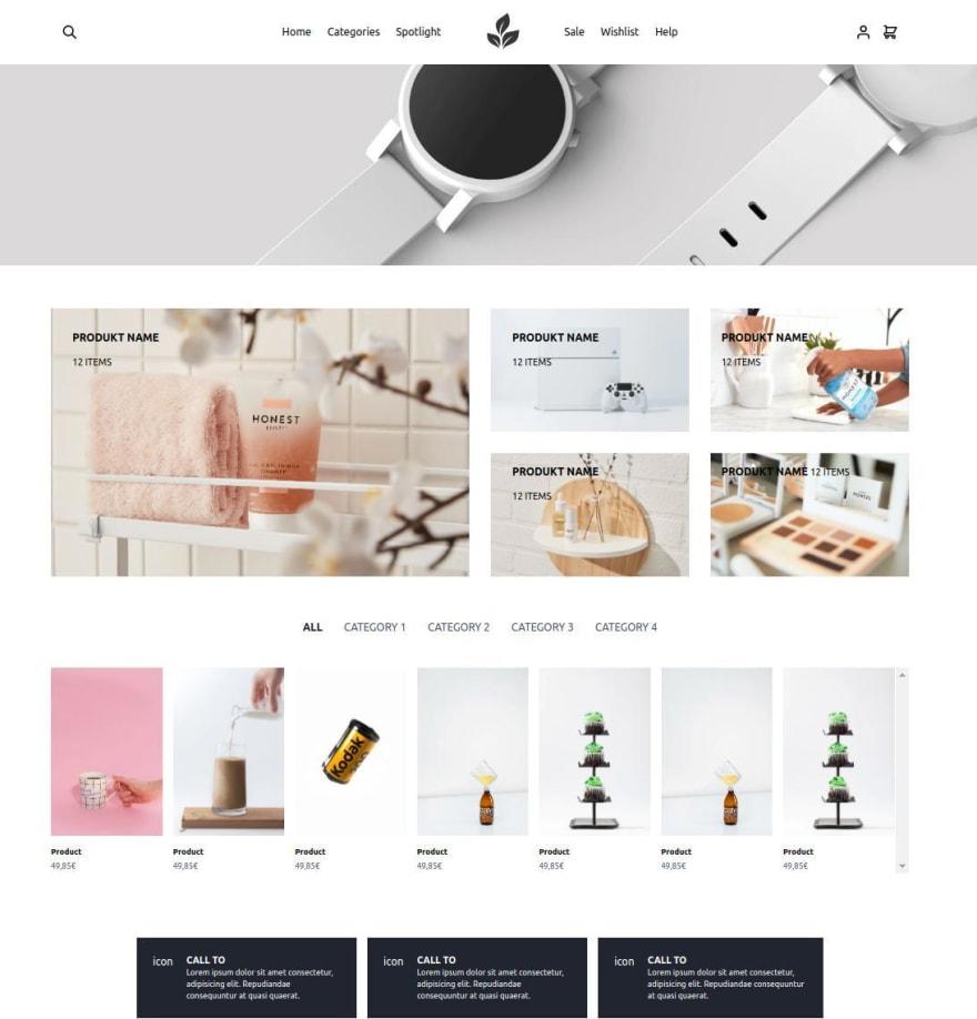 Nextjs ecommerce webshop