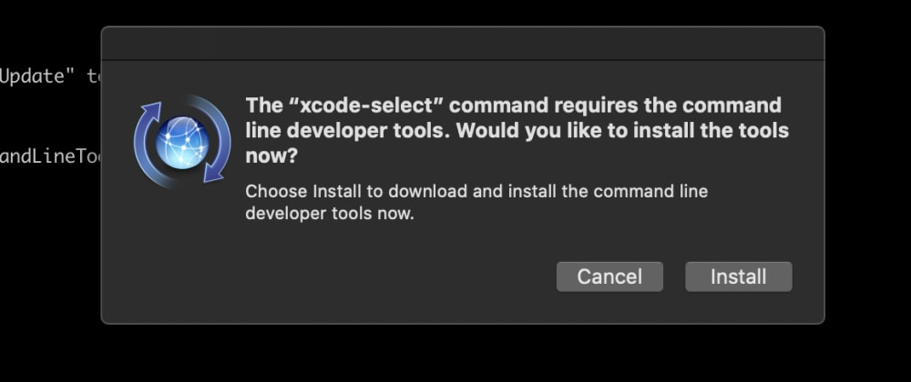 Cover image for gyp: No Xcode or CLT version detected macOS Catalina