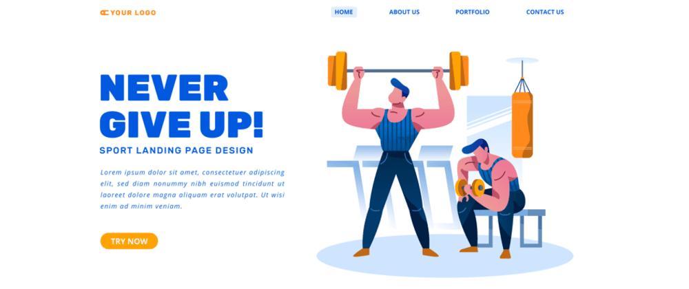 [Beginner HTML&CSS] Duomly coding challenge #5: Gym website