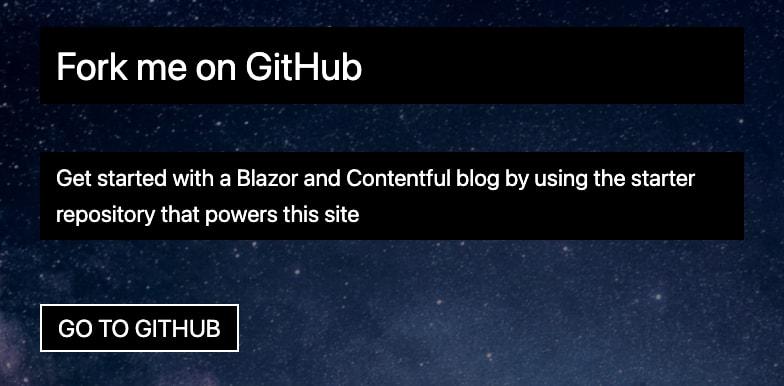 """Screenshot of the event """"Fork me on Github"""""""