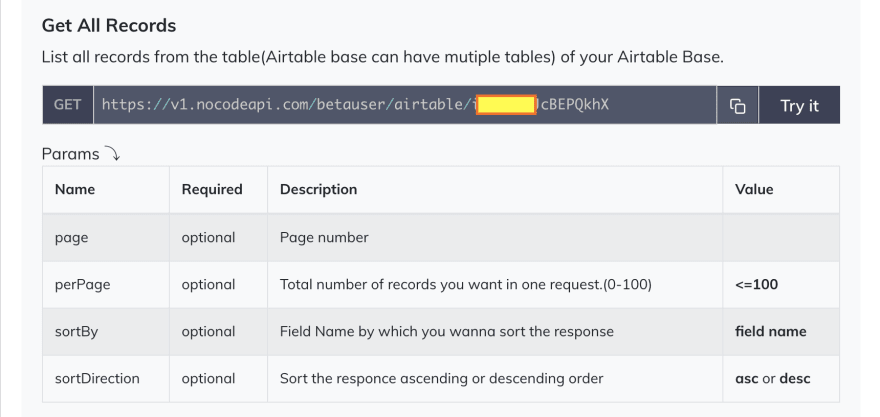 Airtable All Records