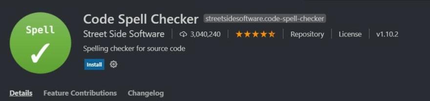 code spell