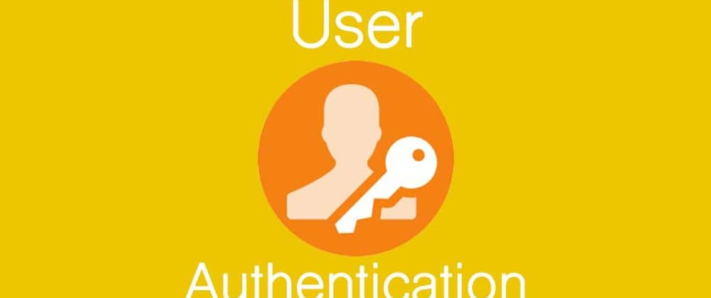 From scratch: user authentication