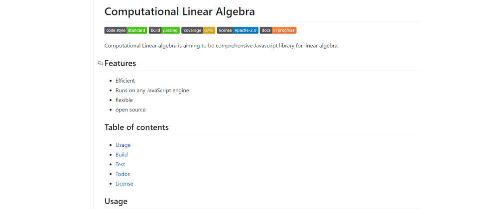 Cover image for Help me build a open source linear algebra library in Javascript