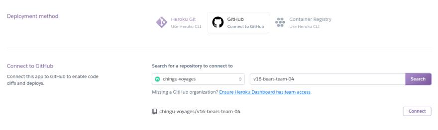 Heroku integration step