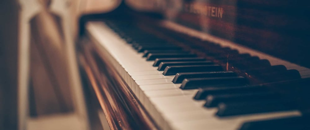Cover image for Building a piano with tone.js!
