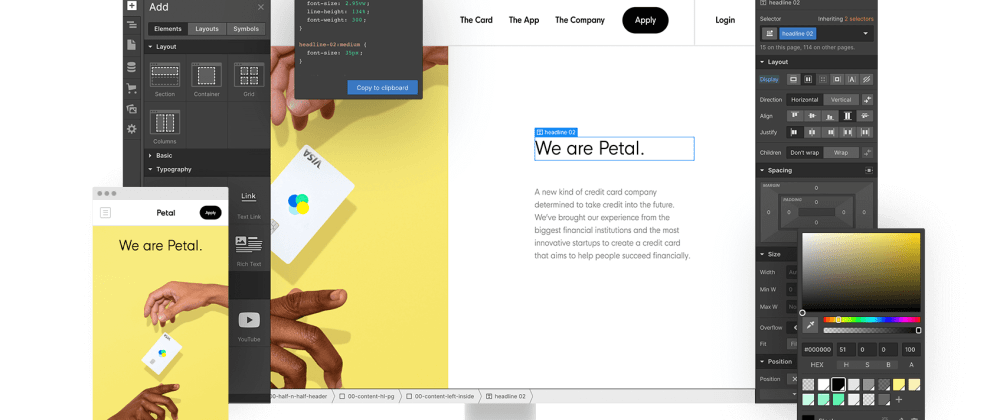 Cover image for Webflow Tutorial | Make websites without code?!
