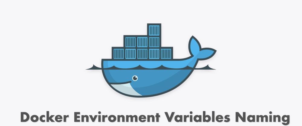 Cover image for Docker environment variables naming