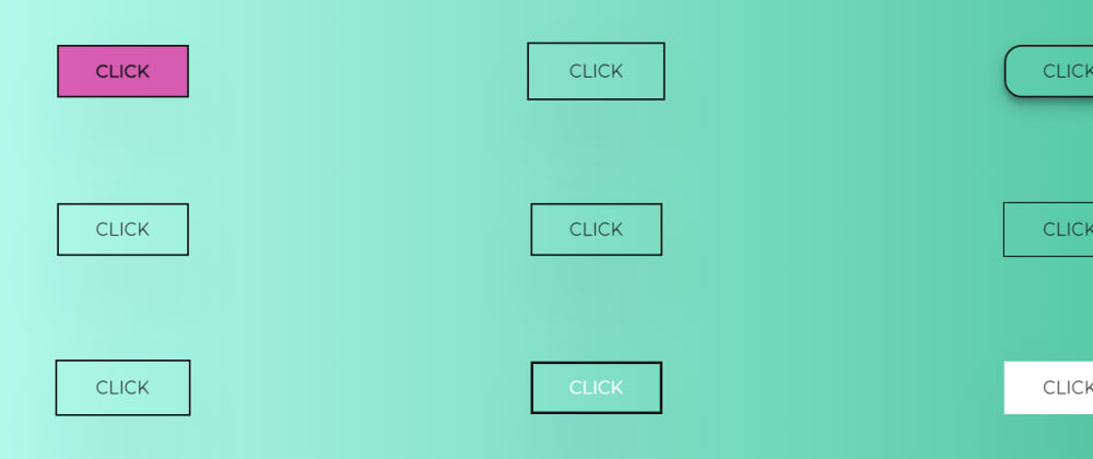 Cover image for 12 Simple Button Hover Animation Using CSS