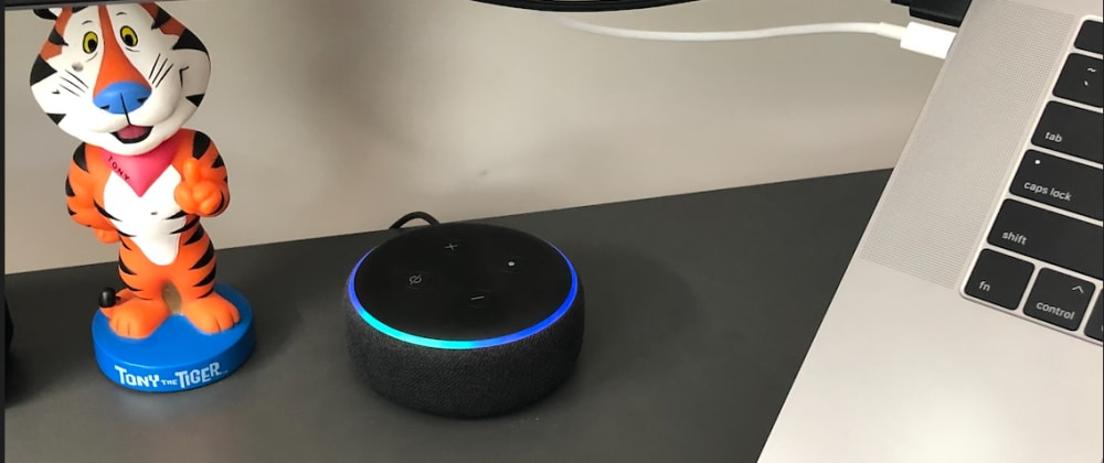 Cover image for Working from home using Amazon Alexa