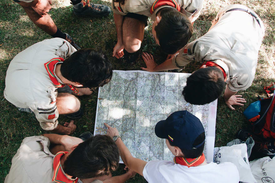 scouts mapping the future