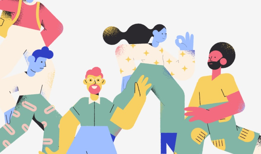 colorful illustrated people
