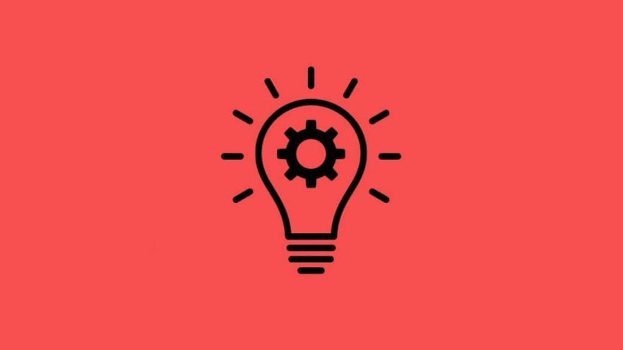 Lightbulb and cog icon, representing the ideation stage of the design thinking process