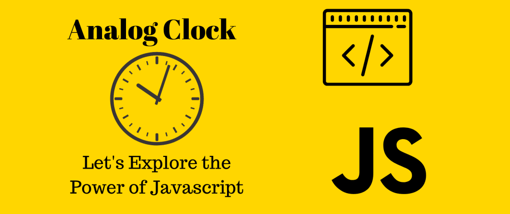 Cover image for Analog Clock Using HTML,CSS & JS ⚡