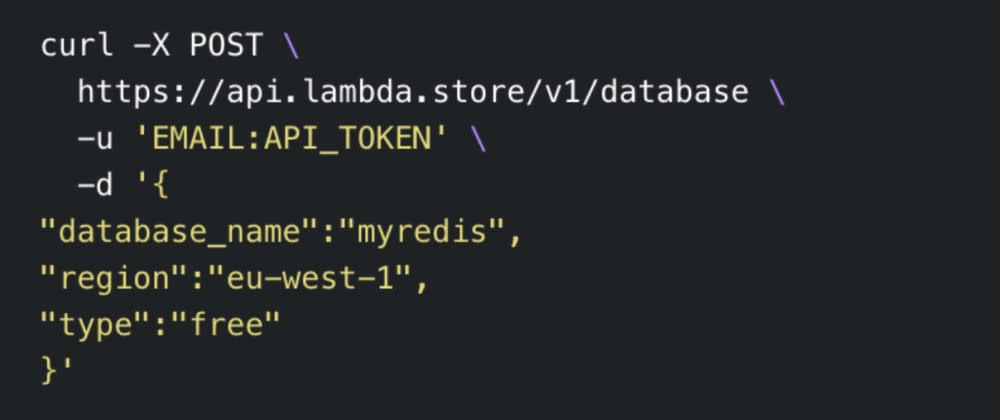 Cover image for Lambda Store Developer API