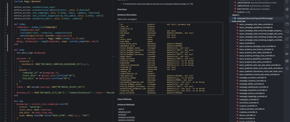 Cover image for Ruby on Rails Development with VS Code
