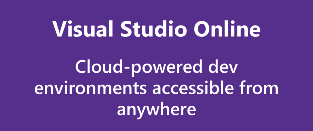 Cover image for Introducing Visual Studio Online