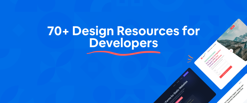Cover Image for 70+ Free Design Resources for Developer