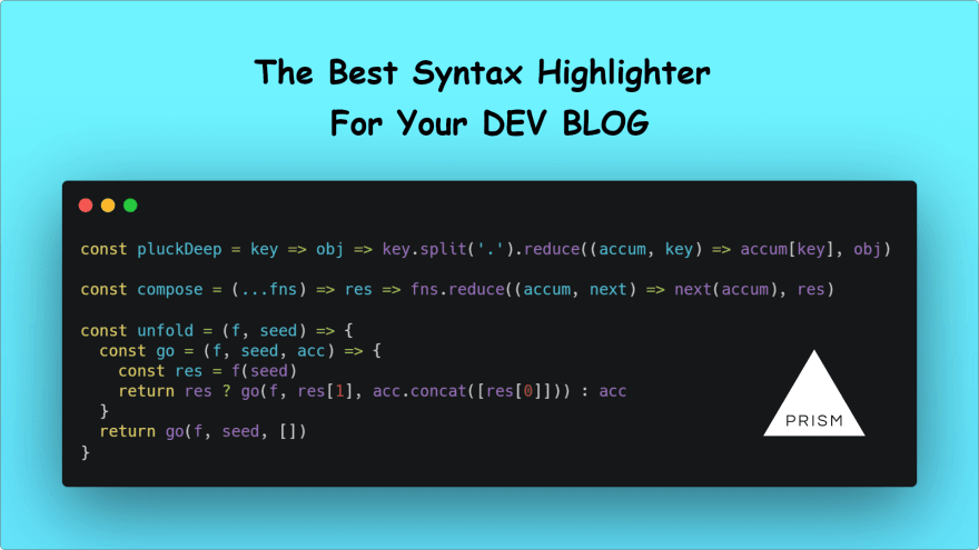 Prism.js syntax highlighting in blogger