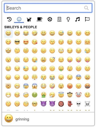Emoji Button screenshot