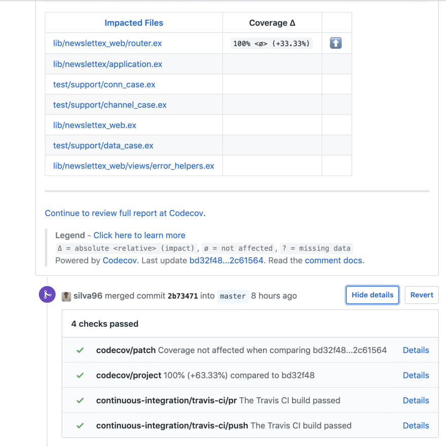 Github PR coverage comment2