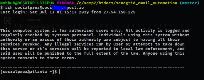 Access Cpanel via SSH without password - DEV Community