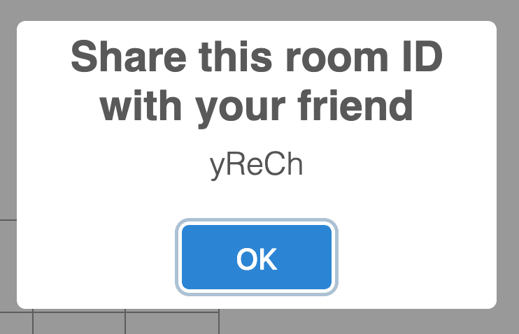 Share the room id