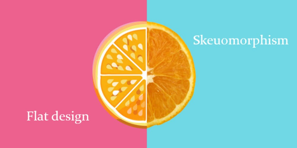 Pros and cons of the skeuomorphic design