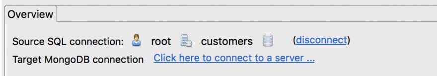 Define the source SQL connection
