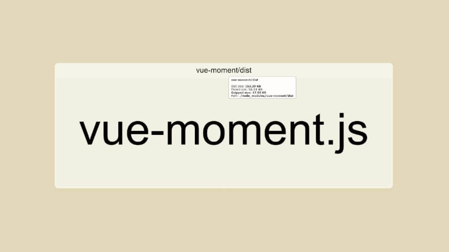 Vue moment library