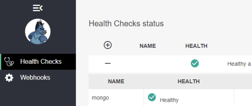 Cover image for Adding Health Checks UI