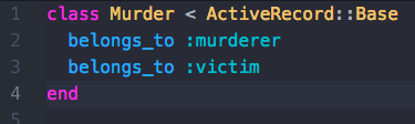 murder class WITHOUT ALIASING