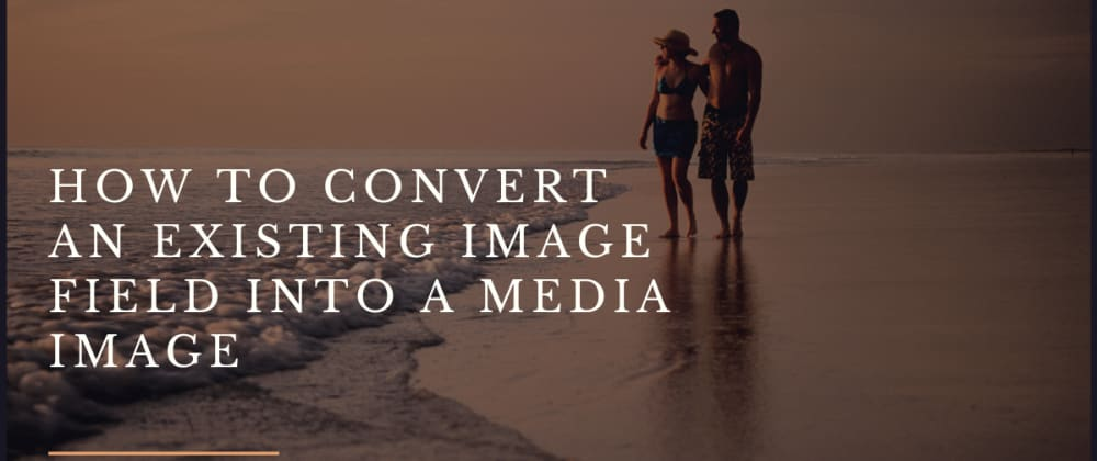Cover image for How to convert existing image fields into Media images - Drupal