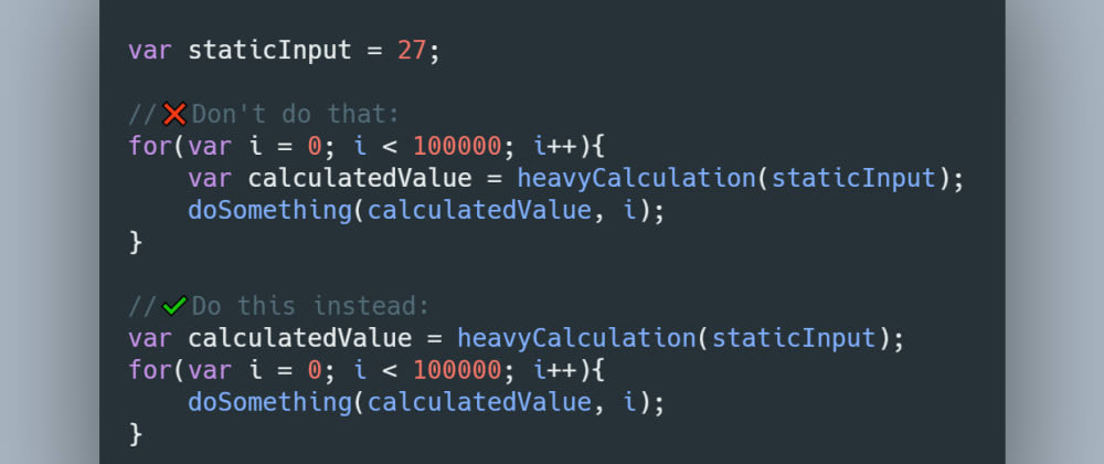 Cover image for Quick tip: Outsource heavy calculations if possible