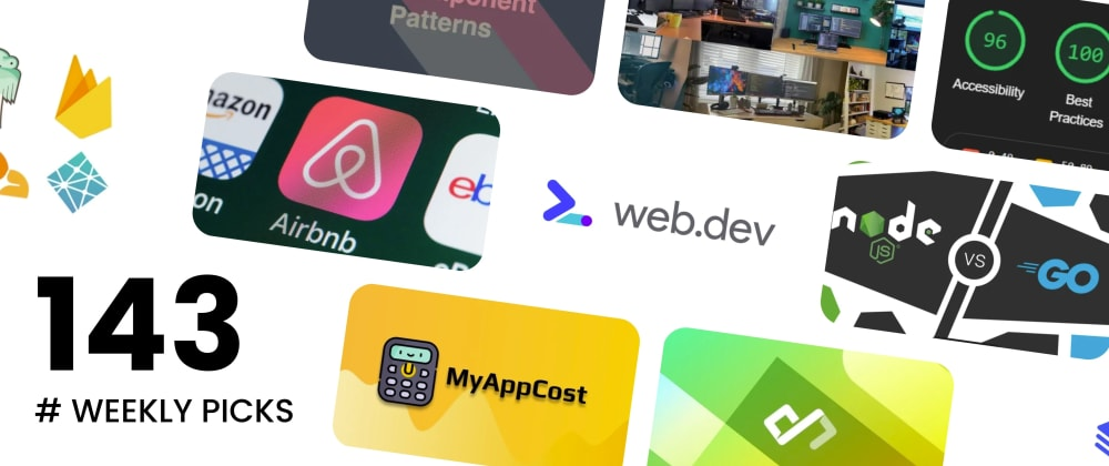 Cover image for 🔥 What's Hot in Web Development? — Weekly Picks #143