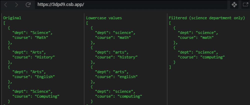 Cover image for Log JavaScript Objects to HTML with DomLog