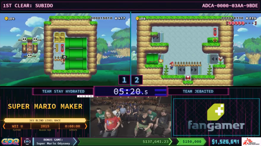 SupportClass AGDQ showcase