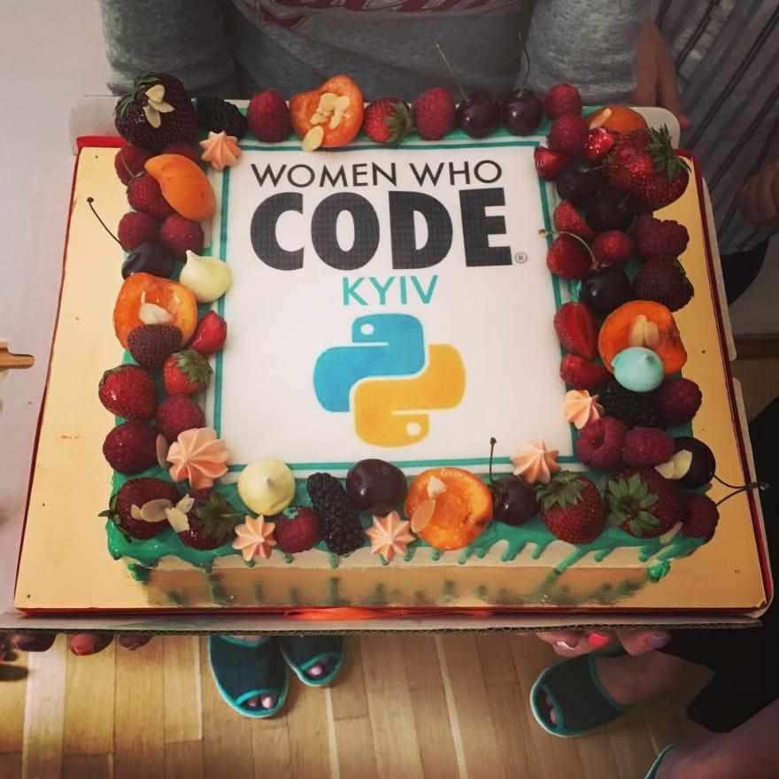 A celebratory cake