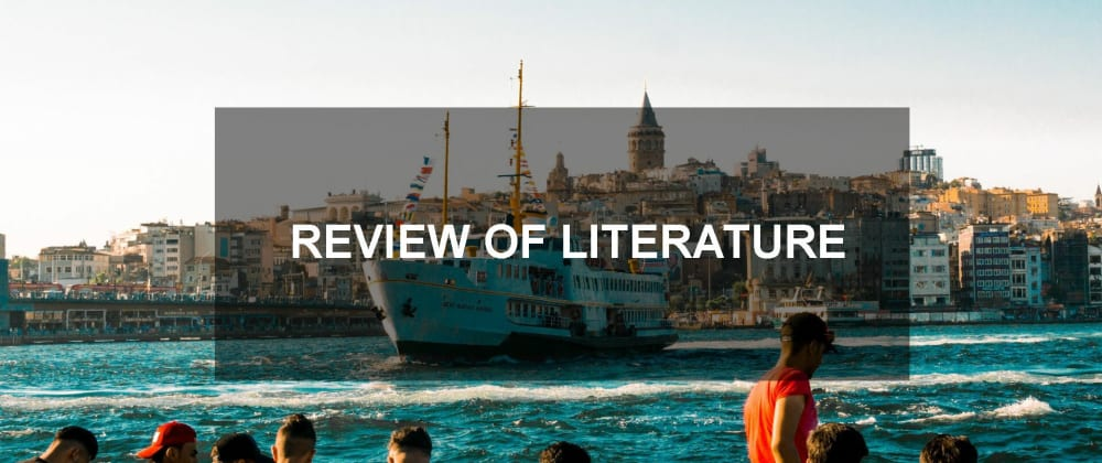 Cover image for How to Write Literature Review of MA Tourism Project