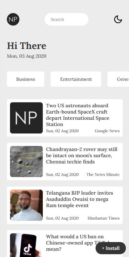 News Peek Light