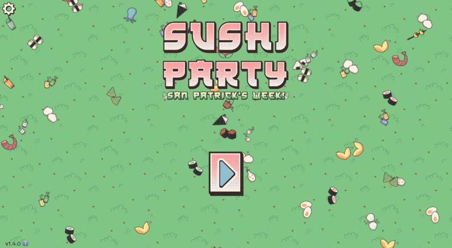 Enclave Games - Five cool Web Monetized games: Sushi Party