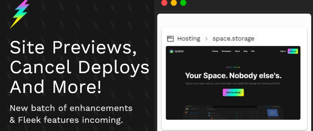 Cover image for Release Update - Site Previews, Cancel & Retry Deploys, Table Improvements