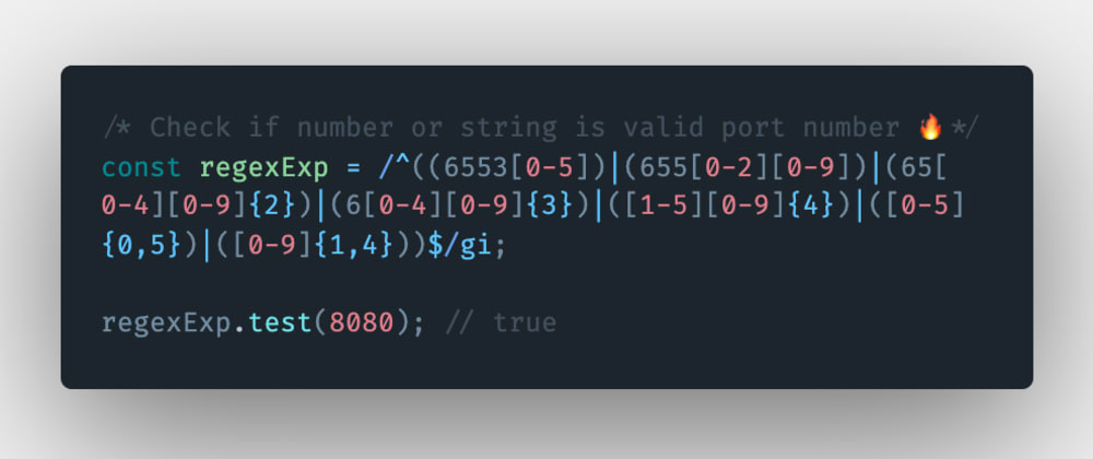 Cover image for How to check if a number or a string is a valid port number in JavaScript?