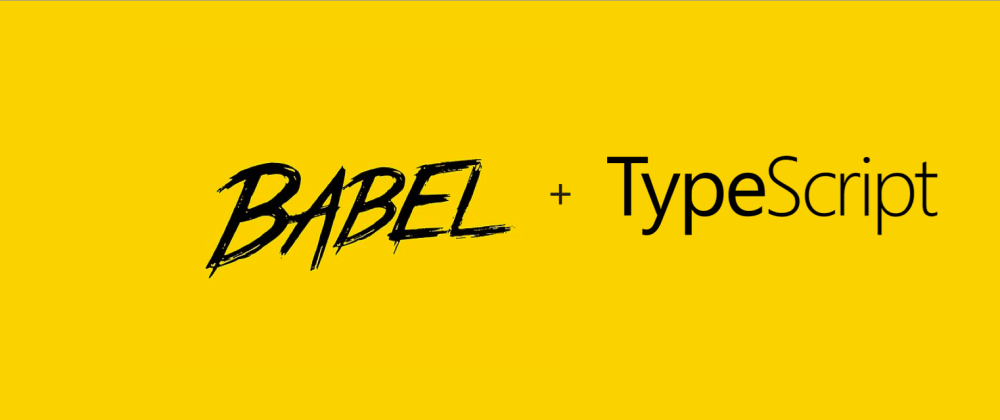 Cover image for Setting up Babel and Typescript