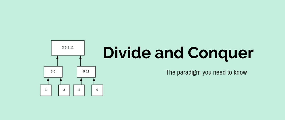Cover image for A Gentle Introduction to Divide and Conquer Algorithms