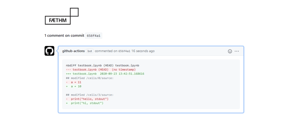 Cover image for Improving Jupyter notebook code reviews with jupydiff