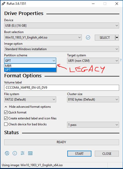 Preparing USB for Windows - DEV Community 👩 💻👨 💻