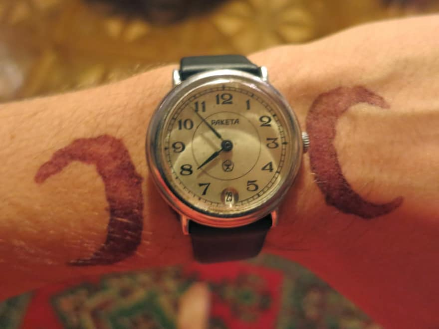 Soviet Raketa watch